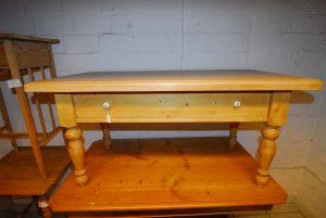 Tisch 26  Couchtisch Maße: H 55 cm  B 110 cm  T 60 cm Preis: 450 €